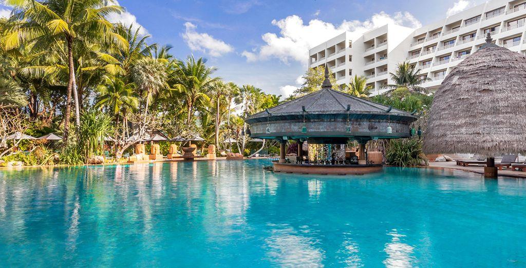 Then, off to the Mövenpick Resort & Spa Karon Beach Phuket