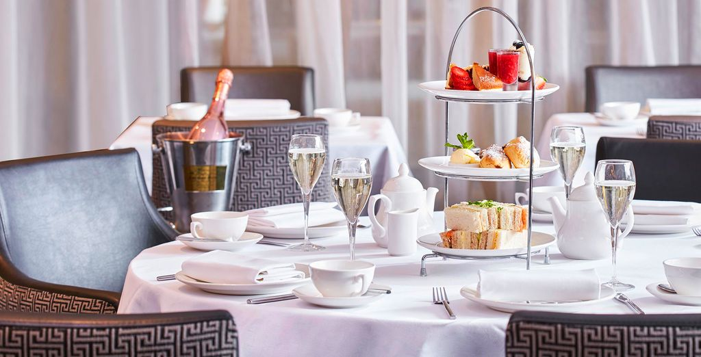 Treat yourself to some high tea for a quintessentially British experience