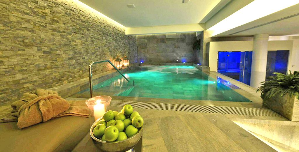 Featuring a fantastic brand new spa