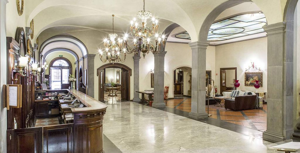 Whose artistic interiors reflect the grand surroundings of the city