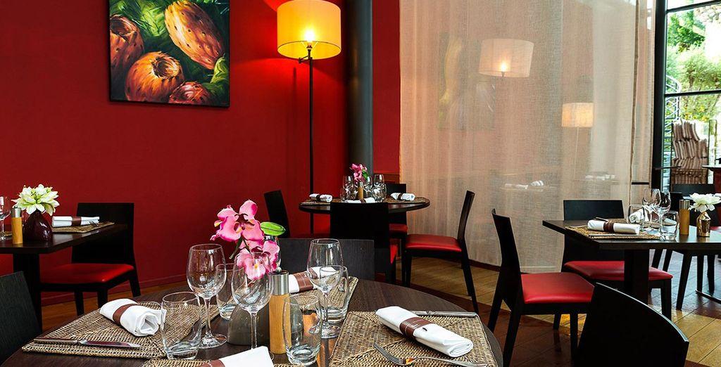A fantastic restaurant serving Mediterranean fare