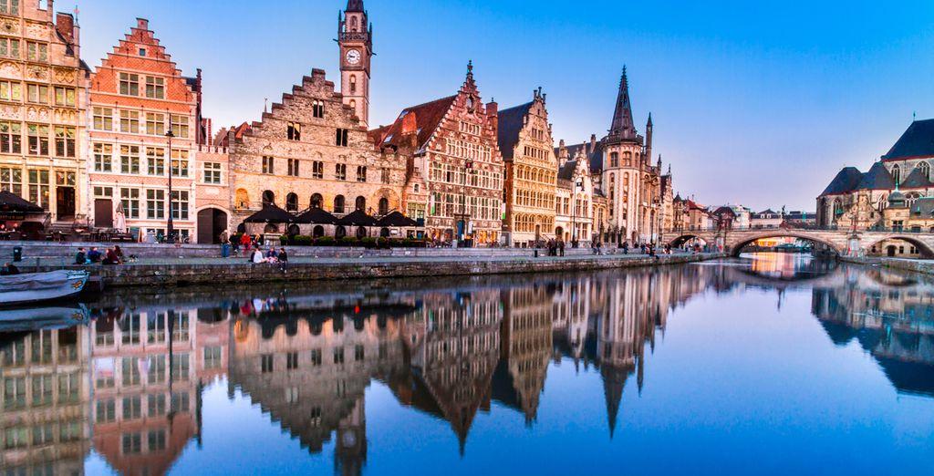 Discover the magic of medieval Bruges - Hotel Rosenburg 4* Bruges