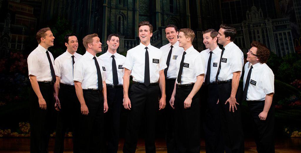 The Book Of Mormon - Book of Mormon + Royal Garden Hotel ***** - London London
