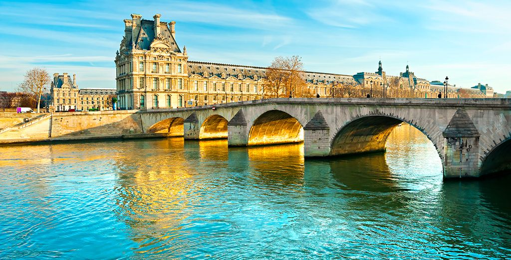 Head out into the refined streets of Paris