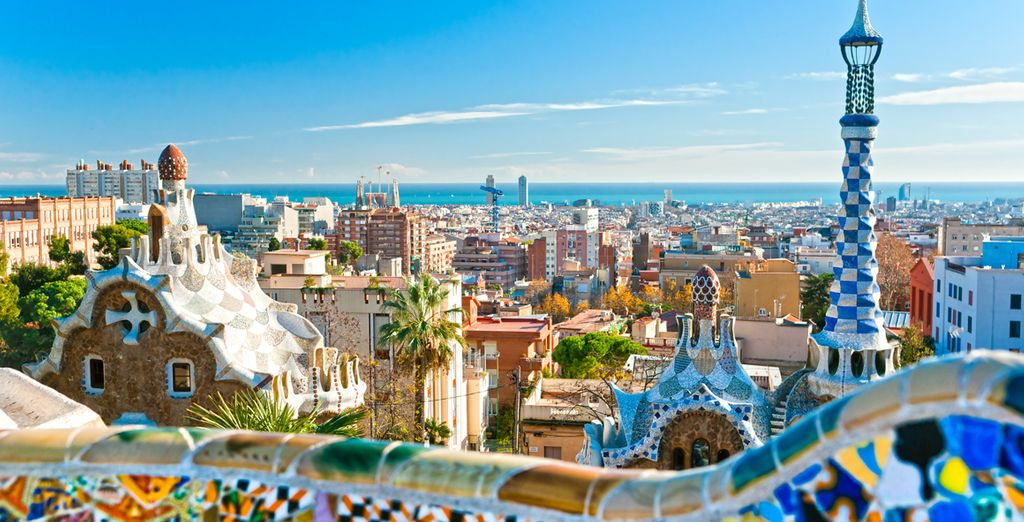 You will visit some of Europe's most desirable locations, including vibrant Barcelona