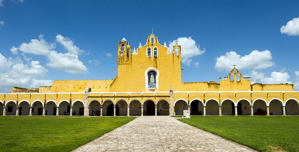Home to the second largest convent in the world