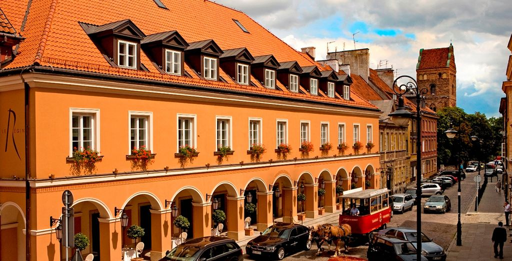 Treat yourself to a 5* holiday in the the streets of Old Warsaw