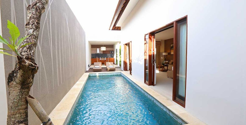 Enjoy total privacy here as you soak up the sunshine by your pool