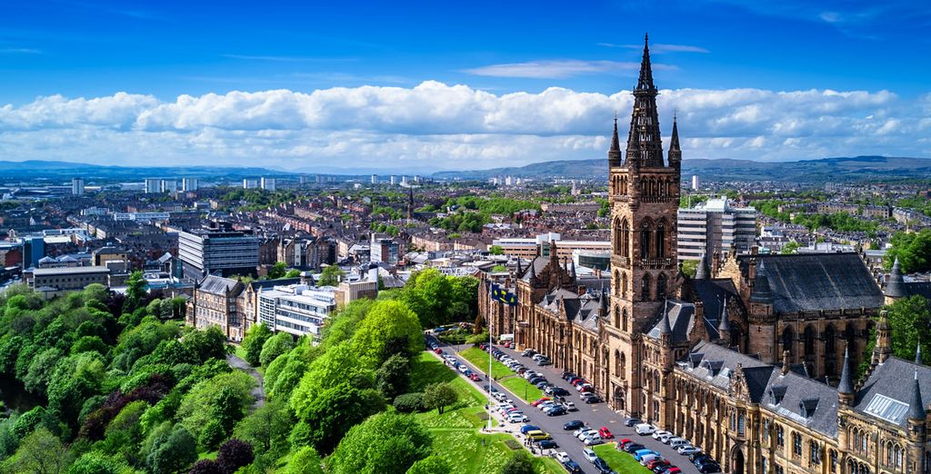 Discover the beautiful city of Glasgow with Voyage Privé