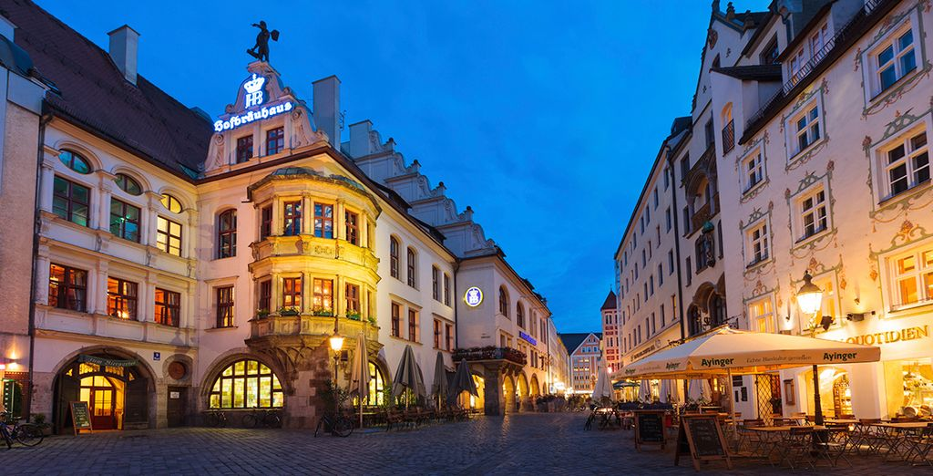 Discover typical German streets with Voyage Privé