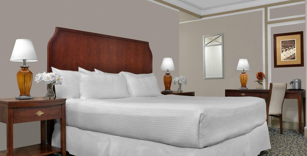 Then finish in Boston at the Boston Park Plaza for 3 nights