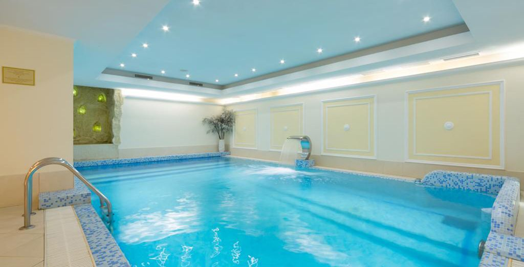 With an indoor pool