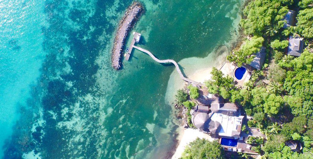 Jet off to paradise... - Cerf Island Resort 4* Mahe Island