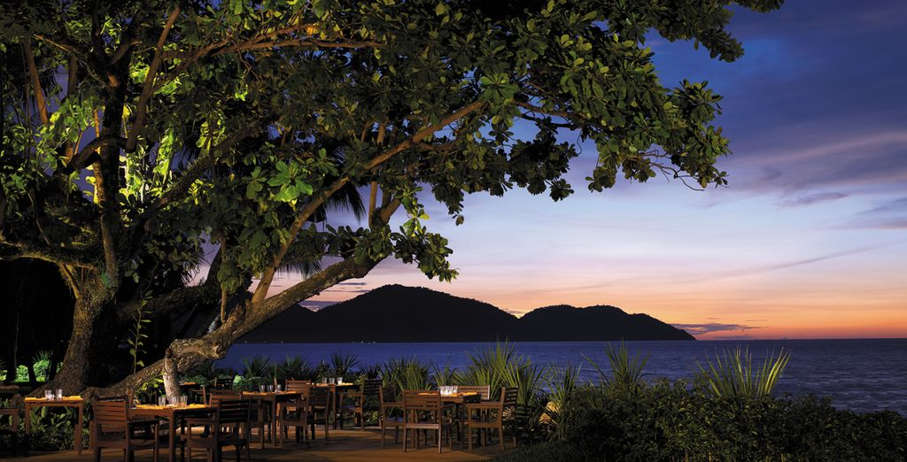 Or unwind with a sundowner overlooking Penang's magnificent landscape