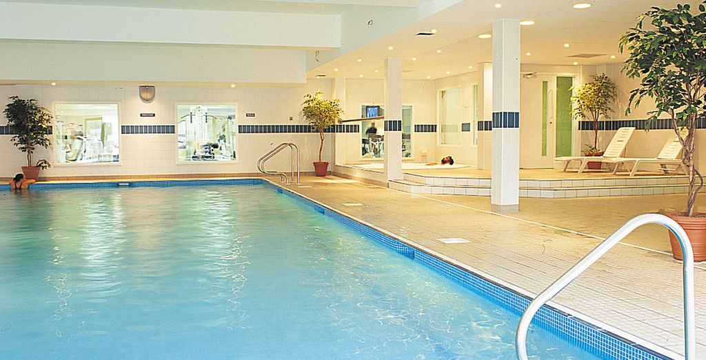Home to an indoor pool