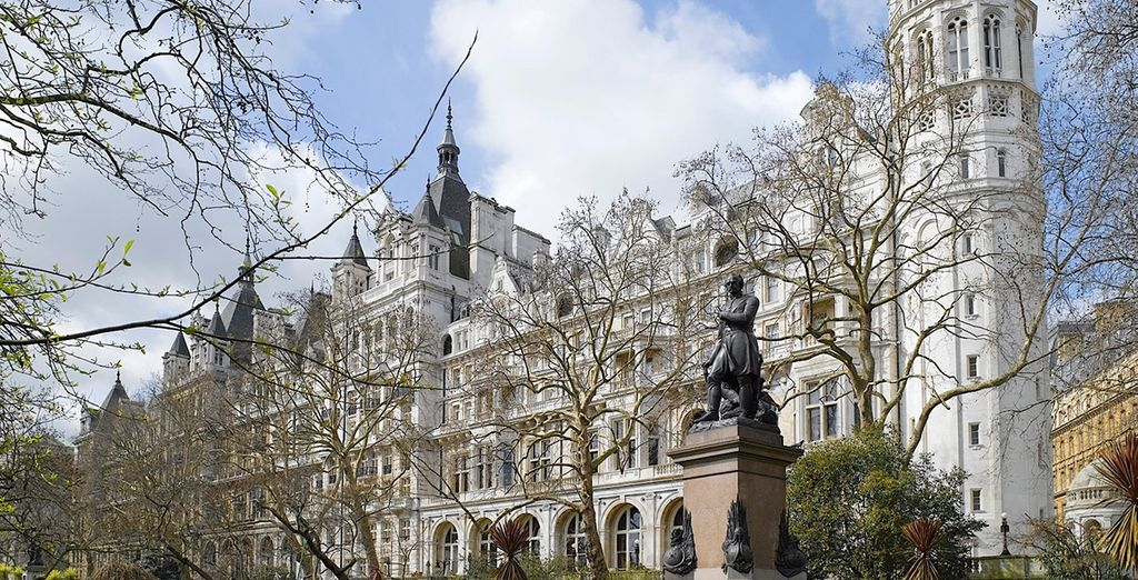 This central hotel opposite the London Eye reflects a proud heritage