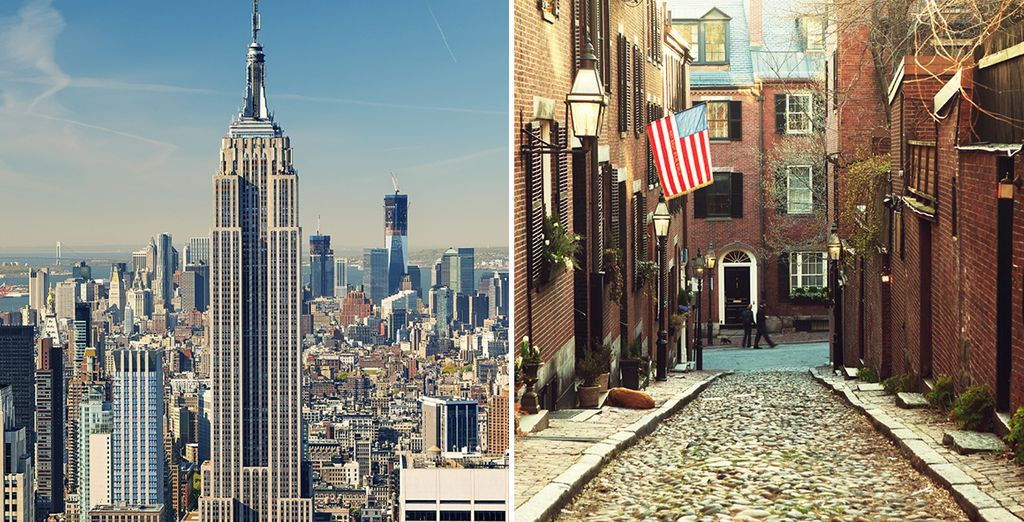Experience the US's most exciting east coast cities with a stay in New York & Boston - Warwick New York & Omni Parker House 4* New York & Boston