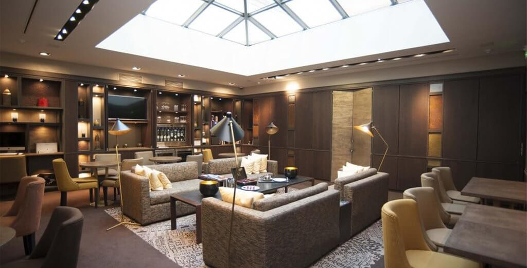 Unwind in the comfortable lounge areas