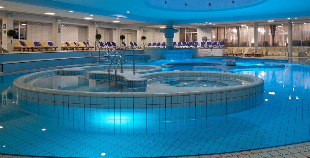 Or retreat indoors to the spa