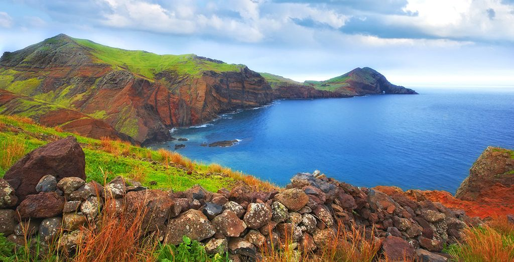 On the stunning island of Madeira