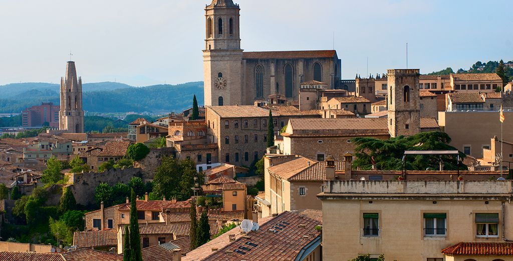 You're just 55km from historic Girona