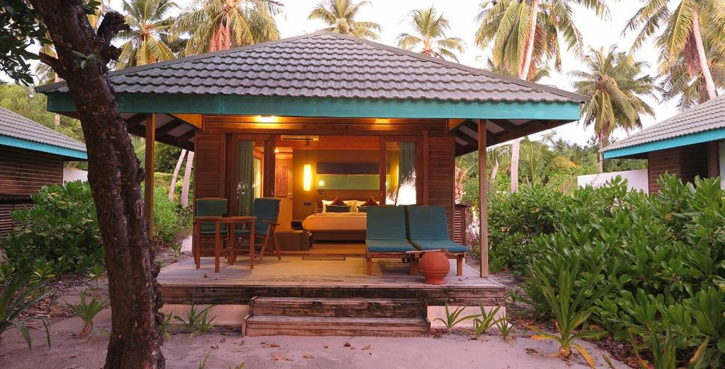 Rest and relax in your Sunrise Villa