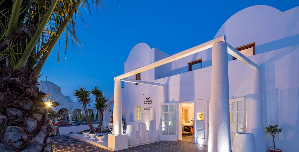 Welcome to the 5* Aressana Spa Hotel