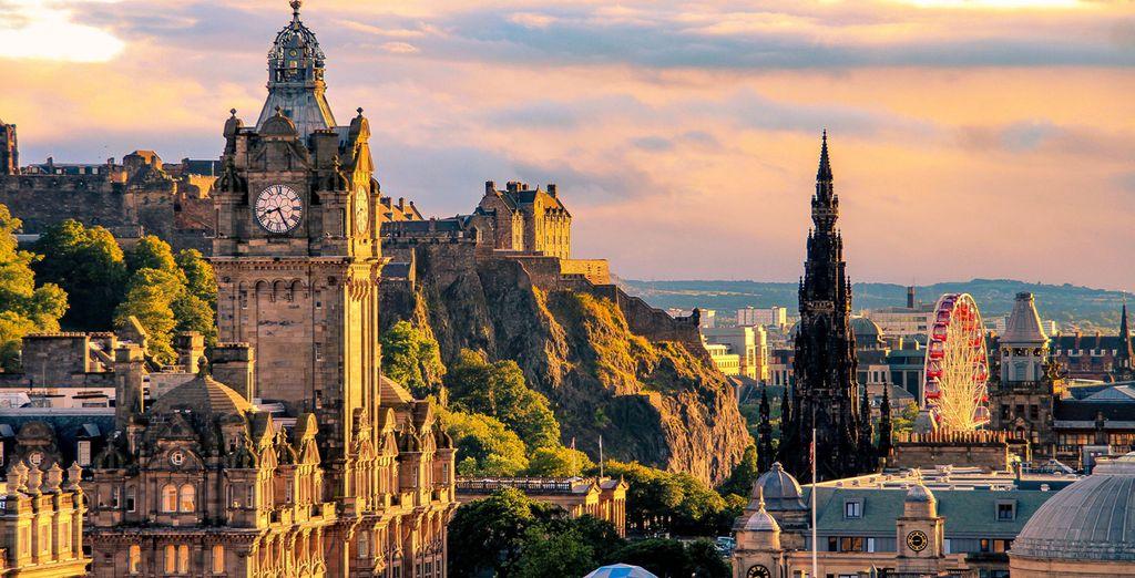 Staycation in Edinburgh