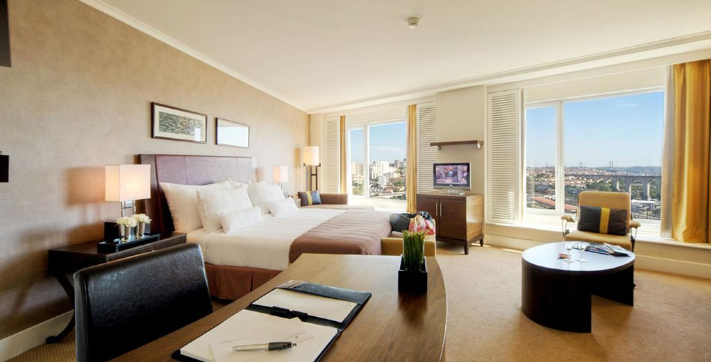 Or enjoy a stay in an ample Executive Suite