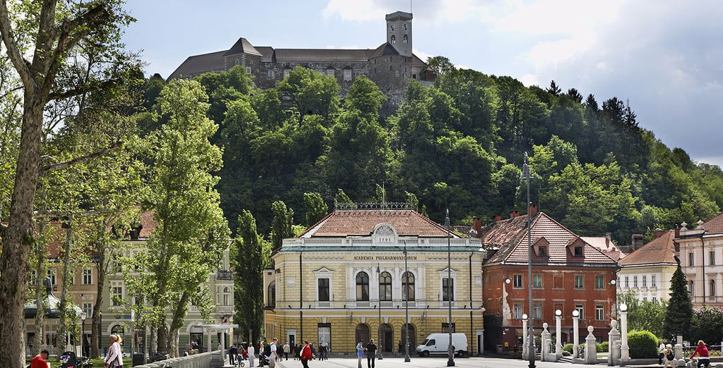 And you will be well-placed to explore Ljubljana...