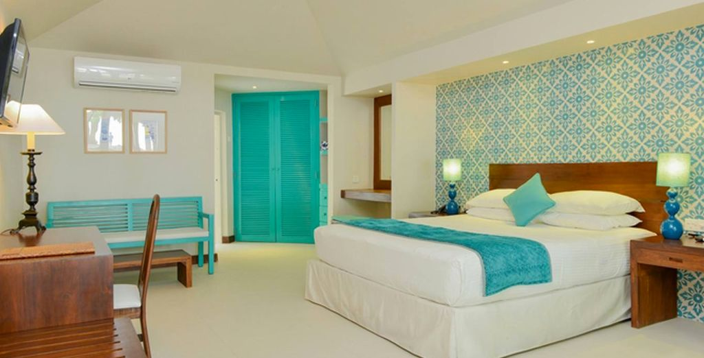 Stay in a Beach Villa