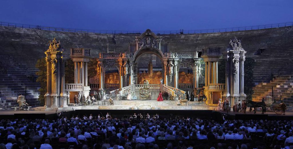 At the Arena di Verona Opera Festival 2017