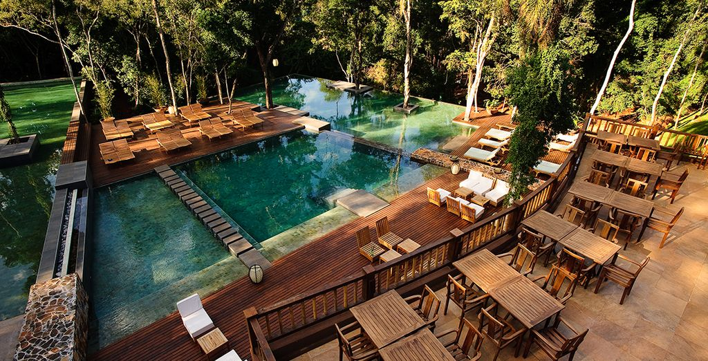 That will immerse you in natural beauty (Loi Suites Iguazu)