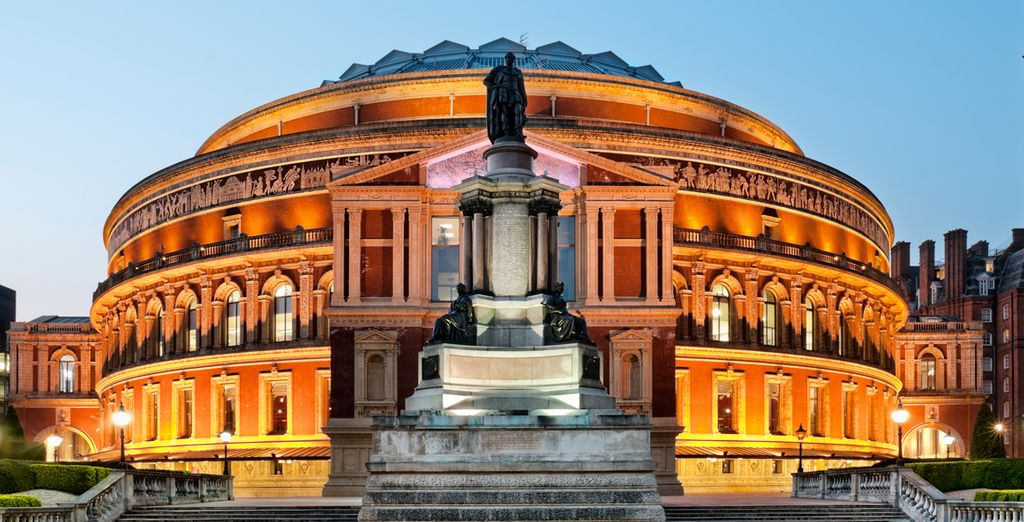 Kensington is home to many great institutions including the Royal Albert Hall