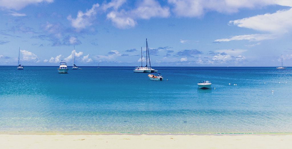 You will be perfectly placed to lap up the stunning white sand beaches & cobalt blue waters - Bay Gardens Beach Resort 4* Reduit Beach, Rodney Bay Village