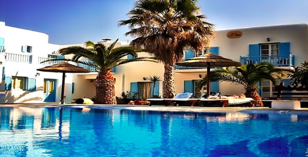 - Lady Anna Hotel**** - Mykonos - Greece Mykonos