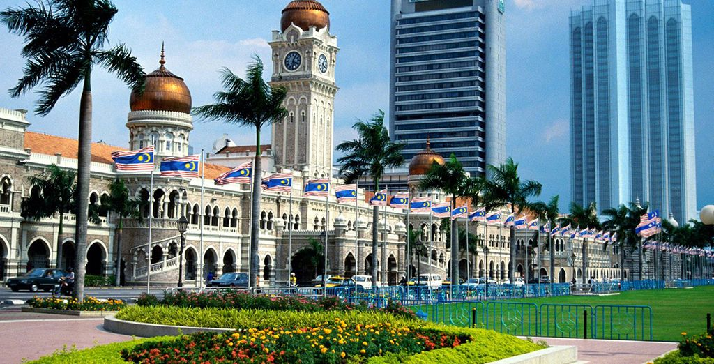 This exciting trip begins in Kuala Lumpur - the gateway to the East