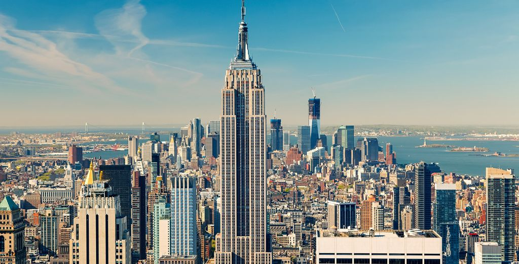 Enjoy a free trip to the observation deck at the Empire State Building