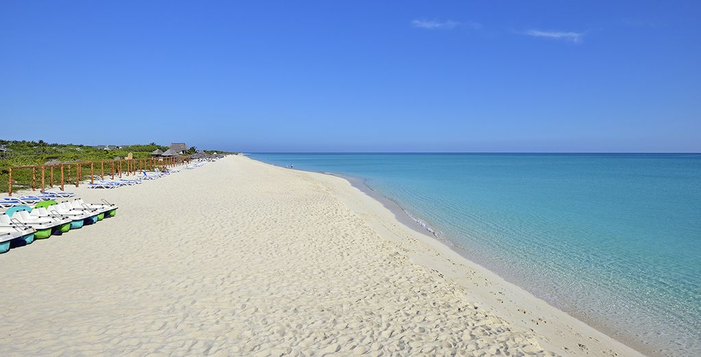 and relax on the shores of Cayo Santa Maria