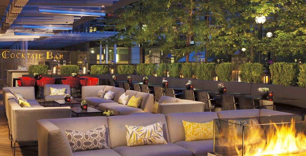 Start in Toronto with a stay in the Ritz Carlton