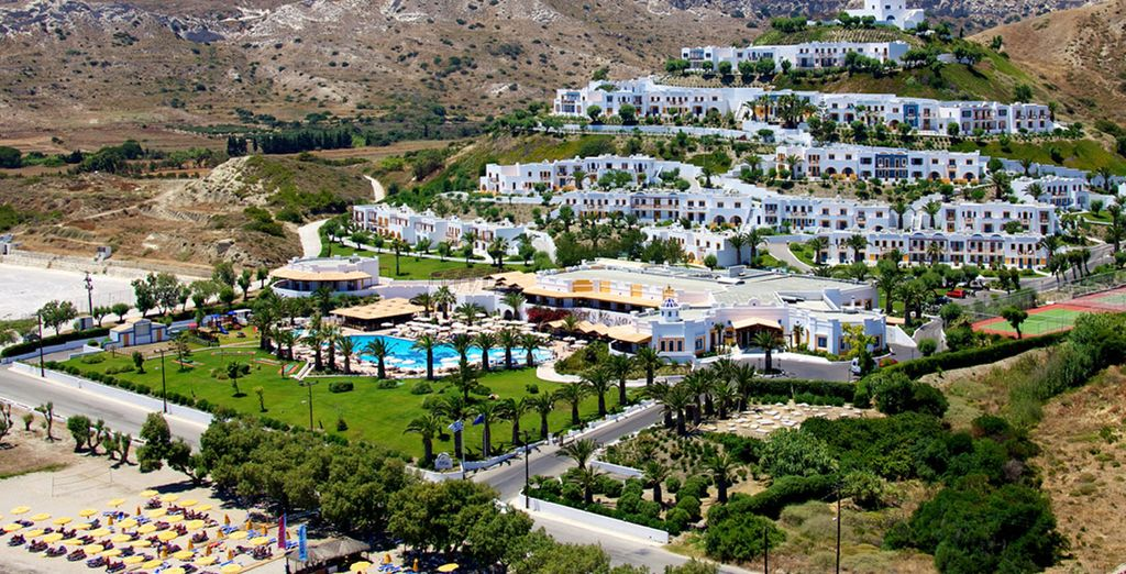 At the 4* Aegean Village