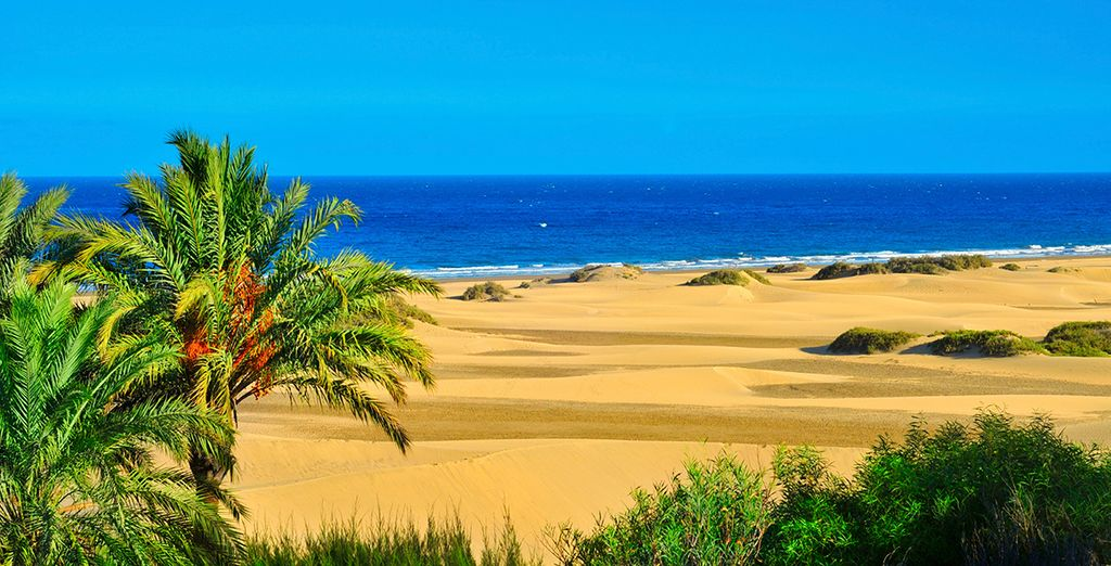 With its golden beaches