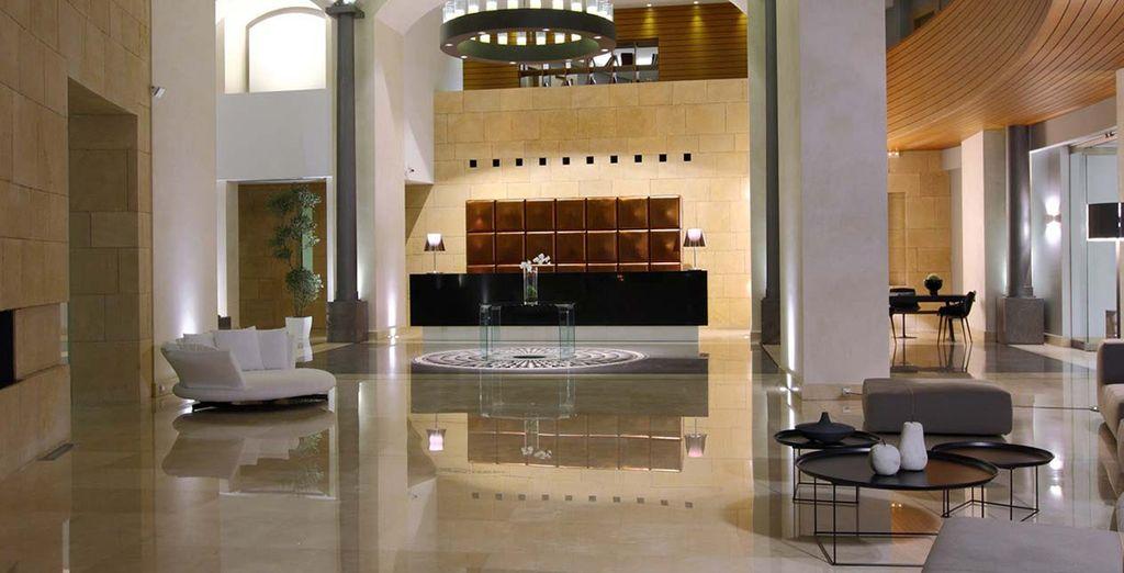 Meets luxurious modern interiors