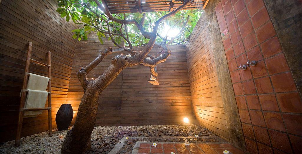 Lebua tower bangkok aleenta hua hin 5 voyage priv up for Outdoor shower tower