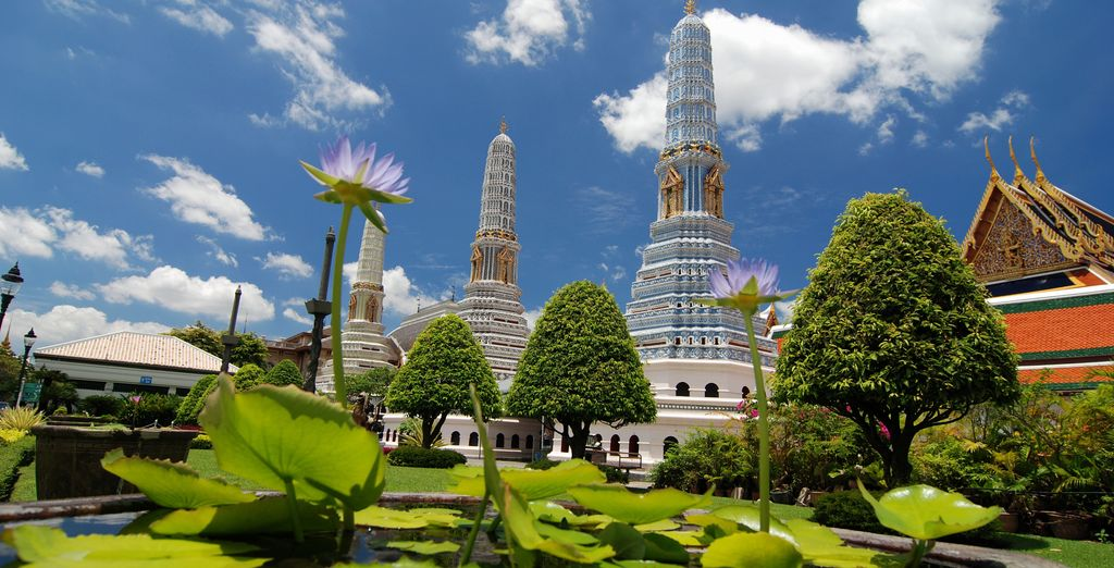 You may choose to add a 2 night stopover in energetic Bangkok