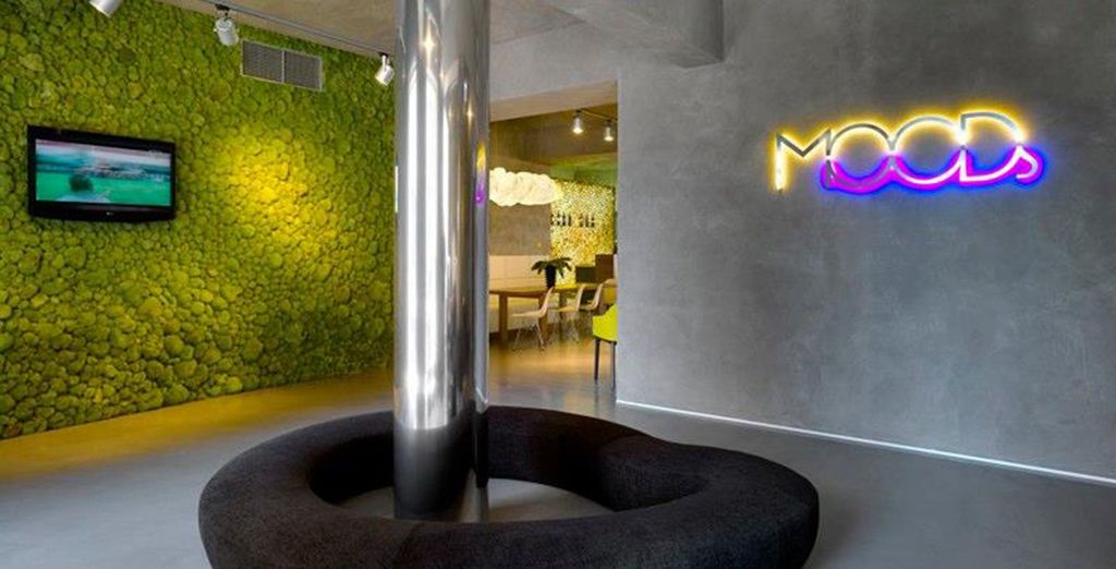 Design Hotel in the Czech capital - MOODs Hotel**** - Prague - Czech Republic Prague