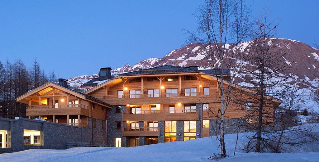Enjoy your Alpine retreat