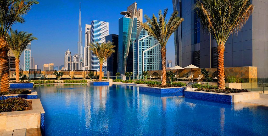 Stop over at the JW Marriott Marquis Dubai 5*