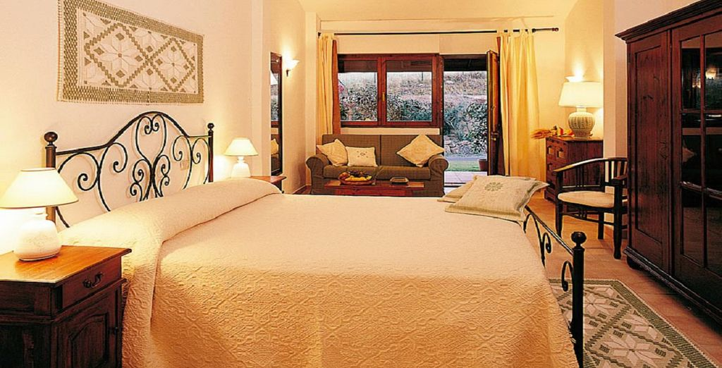 Our members can choose between a charming Comfort Room