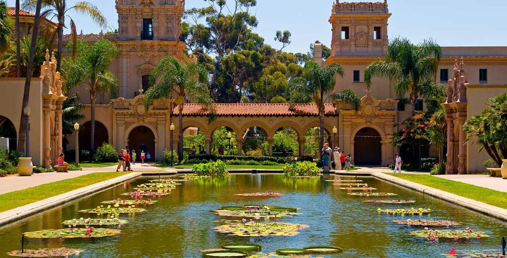 With some exciting attractions such as Balboa Park